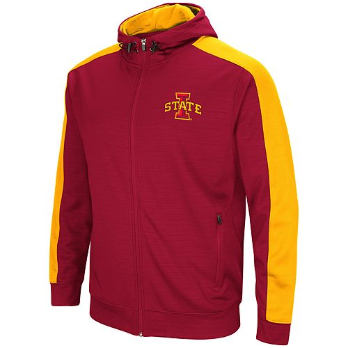 Men's Iowa State Cyclones Setter Full-Zip Hoodie