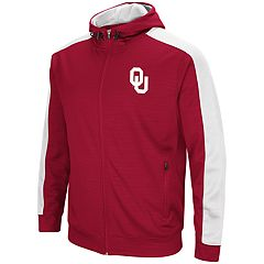 Men's Oklahoma Sooners Setter Full-Zip Hoodie