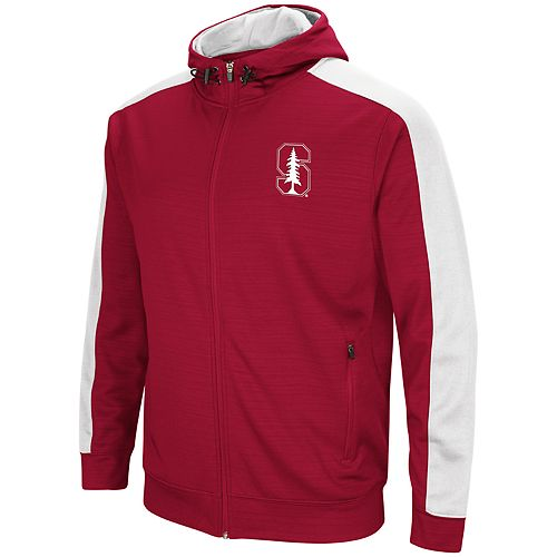 Men's Stanford Cardinal Setter Full-Zip Hoodie