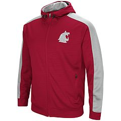 Men's Washington State Cougars Setter Full-Zip Hoodie