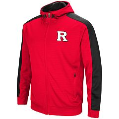 Men's Rutgers Scarlet Knights Setter Full-Zip Hoodie