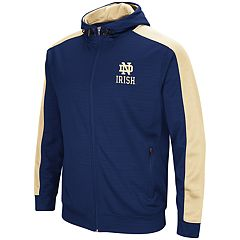 Men's Notre Dame Fighting Irish Setter Full-Zip Hoodie