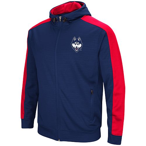 Men's UConn Huskies Setter Full-Zip Hoodie
