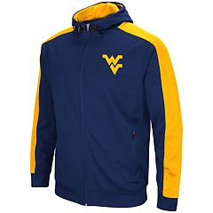 Men's West Virginia Mountaineers Setter Full-Zip Hoodie