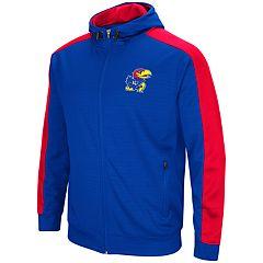 Men's Kansas Jayhawks Setter Full-Zip Hoodie