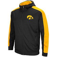 Men's Iowa Hawkeyes Setter Full-Zip Hoodie