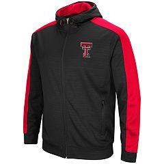 Men's Texas Tech Red Raiders Setter Full-Zip Hoodie