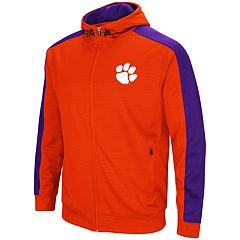 Men's Clemson Tigers Setter Full-Zip Hoodie