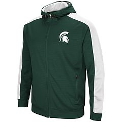 Men's Michigan State Spartans Setter Full-Zip Hoodie