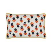 Carol & Frank Addy Embroidered Throw Pillow