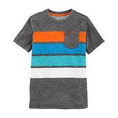 Boys 4-12 OshKosh B'gosh® Striped Slubbed Pocket Tee