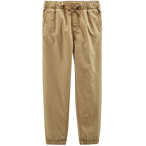 Boys 4-12 OshKosh B'gosh® Jogger Khaki Pants