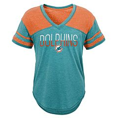 Juniors' Miami Dolphins Traditional Tee