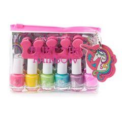Simple Pleasures Unicorn 6 Color Nail Polish Set