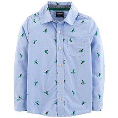 Boys 4-12 OshKosh B'gosh® Printed Button Down Shirt