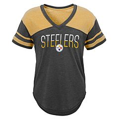 Juniors' Pittsburgh Steelers Traditional Tee