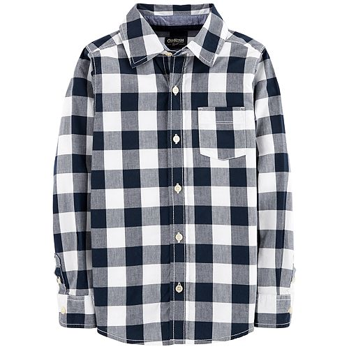 Boys 4-12 OshKosh B'gosh® Plaid Button Down Shirt