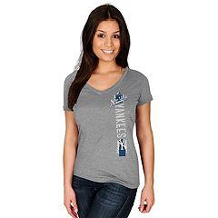 Women's Majestic New York Yankees Fearsome Tee