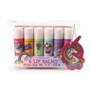 Simple Pleasures Unicorn 6 Piece Lip Balm Set