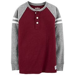 Boys 4-12 OshKosh B'gosh® Striped Raglan Henley