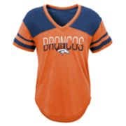 Juniors' Denver Broncos Traditional Tee