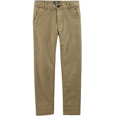 Boys 4-12 OshKosh B'gosh® Slim Flat Front Chino Pants