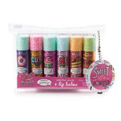 Simple Pleasures Sprinkles 6 Piece Lip Balm Set