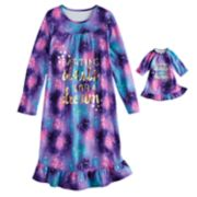 Girls 4-14 & Plus Size SO® Nightgown & Doll Nightgown