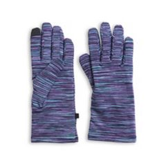 Women's Cuddl Duds Space Dyed Flex Fit Tech Gloves
