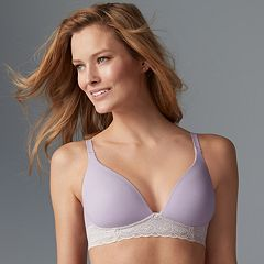 Warner's Bras: Cloud 9 Wire Free Lace Band Contour Bra RO5691A