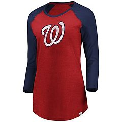 Women's Majestic Washington Nationals Winners Tee
