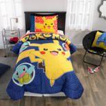Pokemon Pika Pika Pikachu Twin Bedding Set