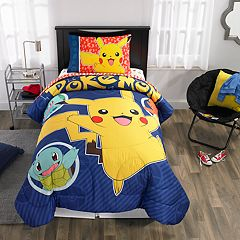Pokemon Pika Pika Pikachu Twin Bedding Set