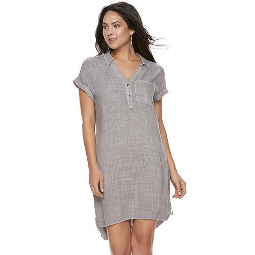 Women's Rock & Republic® High-Low Shirtdress