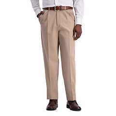 Men's Haggar® Work to Weekend® PRO Stretch Classic-Fit Pleated Casual Pants