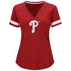 Women's Majestic Philadelphia Phillies Game Stopper Tee