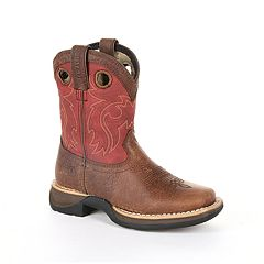 Lil Rebel by Durango Toddler Waterproof Western Saddle Boots