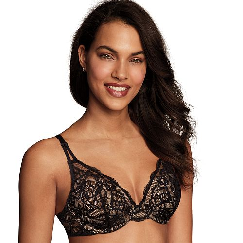 Maidenform Bras: Modern Beauty Lace Lightly Lined Demi Bra DM9601