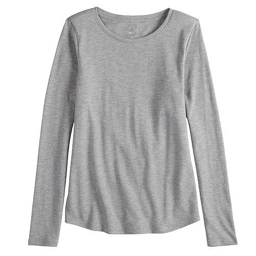 4851726e9ca Girls 7-16   Plus Size SO® Racerback Tank Top   Long Sleeve Tee Set ...