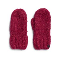 Women's Cuddl Duds Space Dyed Knit Mittens