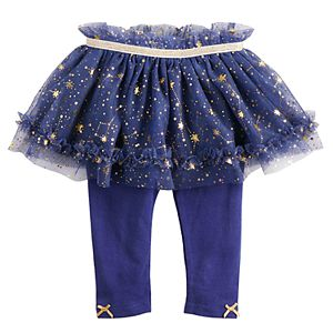 3db5d601c0 Baby Girl Baby Starters 2-pack Star Print   Glittery Graphic Bodysuits. Sale