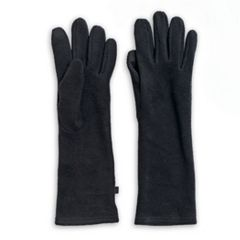 Women's Cuddl Duds Long Fleece Tech Gloves
