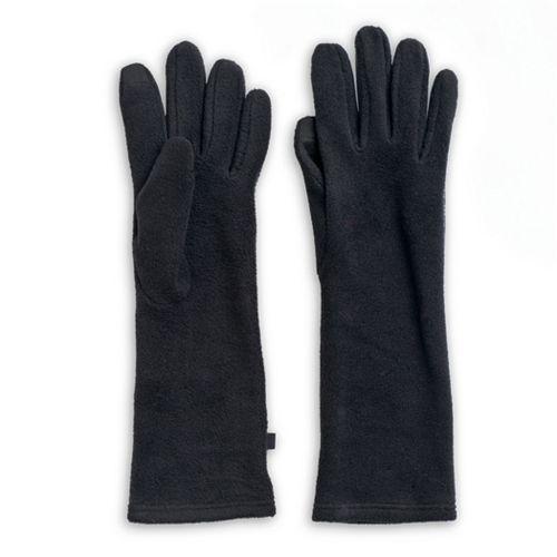 womens-cuddl-duds-long-fleece-tech-gloves by cuddl-duds