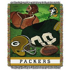 Green Bay Packers Vintage Throw Blanket