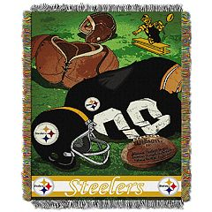 Pittsburgh Steelers Vintage Throw Blanket