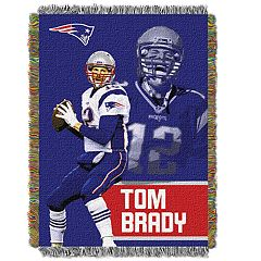 New England Patriots Tom Brady Throw Blanket