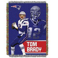 New EnglandPatriots Tom Brady Throw Blanket