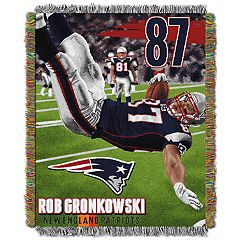 New EnglandPatriots Rob Gronkowski Throw Blanket
