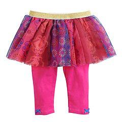 Baby Girl Baby Starters Floral Print Tutu Leggings