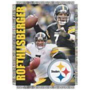 Pittsburgh Steelers Ben Roethlisberger Throw Blanket